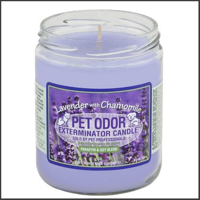 odor remover candle for pets